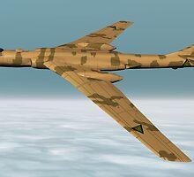 Tupolev Tu-16 Bomber (Badger) by Walter Colvin