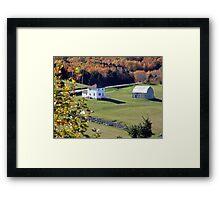 Capstick, Cape Breton Framed Print