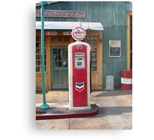 Disneyland Gas Station Pump Metal Print
