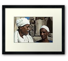 Karnak Guides from Nubia and Egypt Framed Print