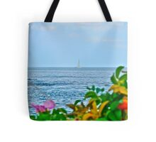 Sailing Out to the Block Island Sound - Narragansett Bay Tote Bag