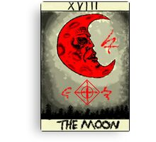 Tarot: The Moon Canvas Print