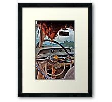 Cadillac Cruising Framed Print