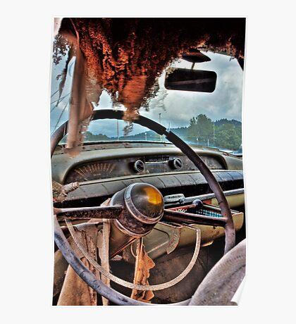 Cadillac Cruising Poster