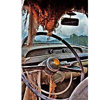 Cadillac Cruising Photographic Print