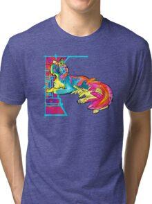 space lava kool aid cat Tri-blend T-Shirt