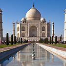 Taj Mahal by Nickolay Stanev