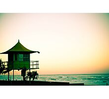 Sunset in Surfers Photographic Print