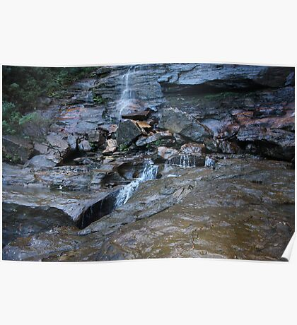 National Pass Wentworth Falls Poster