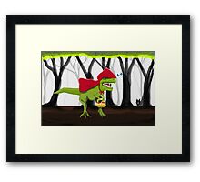 Rex Riding Hood Framed Print