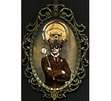 Steampunk Civil War Portrait: Silas Photographic Print