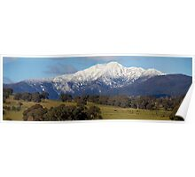 Mt Buller in July Poster
