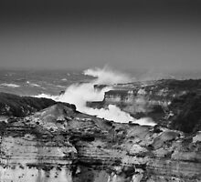 Wild at the 12 Apostles by mrjaws