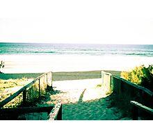 Blue Sky  - Surfers Paradise Photographic Print