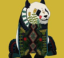 panda ochre by Sharon Turner