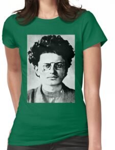 Historical Hipsters - Leon Trotsky Womens Fitted T-Shirt