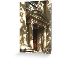 0081  Front Door Greeting Card
