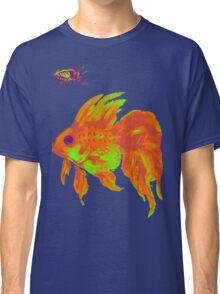 warm electric goldfish Classic T-Shirt