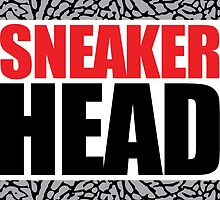 Sneaker Head Elephant by tee4daily