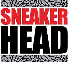 Sneaker Head Elephant Photographic Print