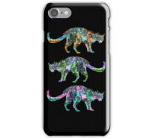 space cat trilogy  iPhone Case/Skin
