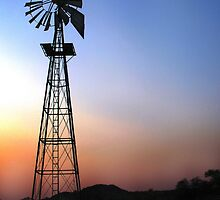 Blazing Kalahari Sunset by Craig Higson-Smith