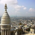 views from sacre coeur by michelle mcclintock
