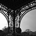eiffel underbelly by michelle mcclintock