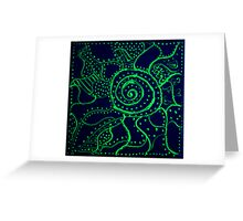 REDREAMING: MOTE. Night Version Greeting Card