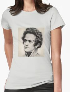 Historical Hipsters - Karl Marx Womens Fitted T-Shirt