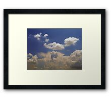 ©HCS Distant Tower IA. Framed Print