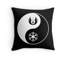 Jedi/Sith Yin-Yang Throw Pillow