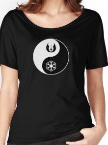 Jedi/Sith Yin-Yang Women's Relaxed Fit T-Shirt