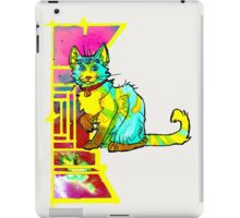 multieyed mutant feline iPad Case/Skin