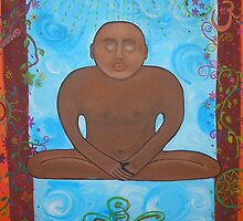 Contemplating Buddha by Corinna