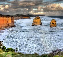 The Sentinels - 12 Apostles by Hans Kawitzki