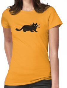 Black Cat(s) Womens Fitted T-Shirt
