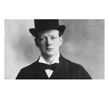 Historical Hipsters - Winston Churchill by c-w-w