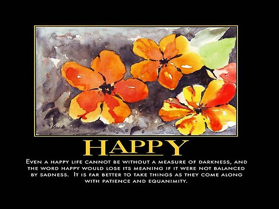 Inspirational - Happy by Maree Clarkson