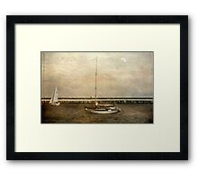 Sailing © Framed Print