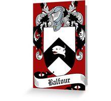 Balfour  Greeting Card