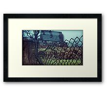 someone's crying in the woods Framed Print