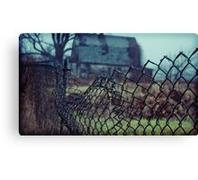 someone's crying in the woods Canvas Print