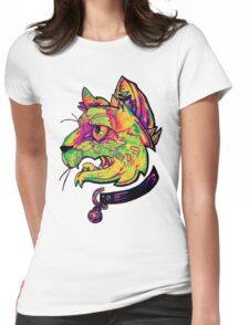 liquidcolor neoncat Womens Fitted T-Shirt