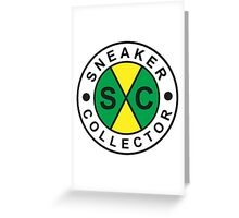 Sneaker Collector Greeting Card