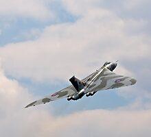 Avro Vulcan by Robert  Geldard
