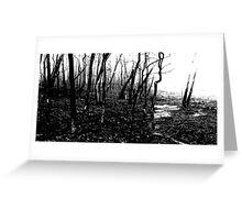 Black Dawn (Scott Peters, 2009, Digital Mixed Media) Greeting Card