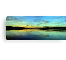 Aqua - Narrabeen Lakes, Sydney - The HDR Experience Canvas Print