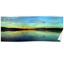 Aqua - Narrabeen Lakes, Sydney - The HDR Experience Poster