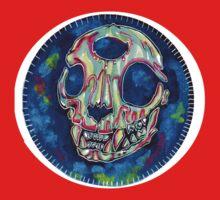 psychedelic psychic cat skull by HiddenStash